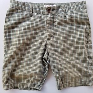 Penguin Munsingwear Mens Shorts 32 Plaid Flat Fron